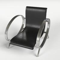 3d model armchairs 5