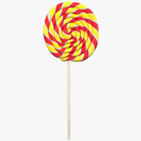 3d model lollipop 3