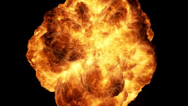 zero-g fireball explosion camera max