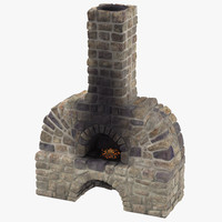 blacksmith s furnace 01 3d model