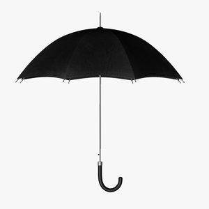 umbrella open c4d
