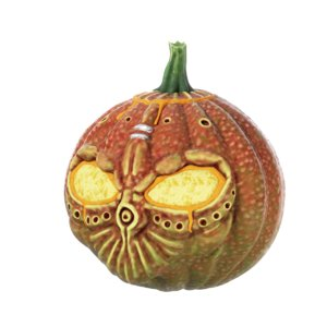 3d model of realistic halloween pumpkin