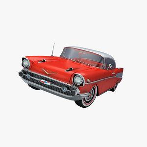 3d american car model