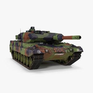 max german battle tank leopard