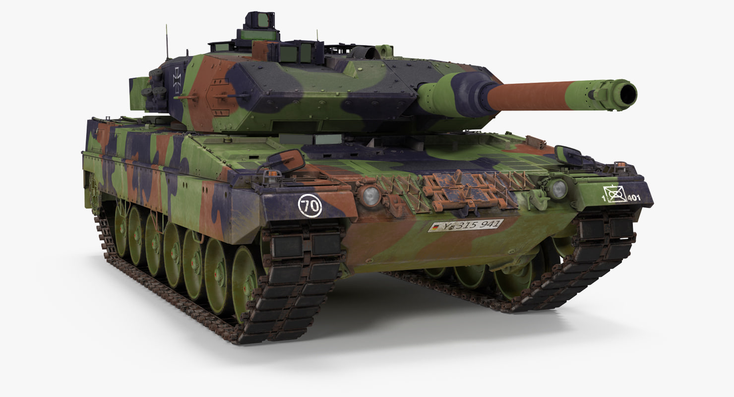 max german battle tank leopard