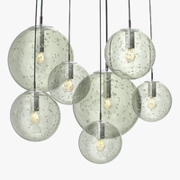 Raak - Clear bubble glass globes