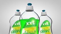 c4d dishes dishwashing liquid