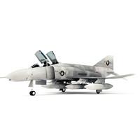 3d model of f4 phantom