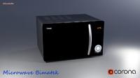 microwave bimatek corona 3d model