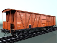 3ds boxcar canadian type equipped