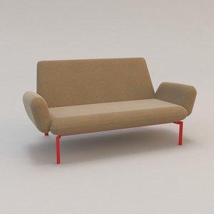 easy klauser carpenter sofa chair max