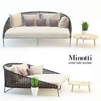 3d model garden furniture