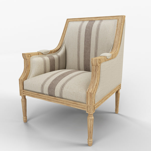 mckenna arm chair 3d model