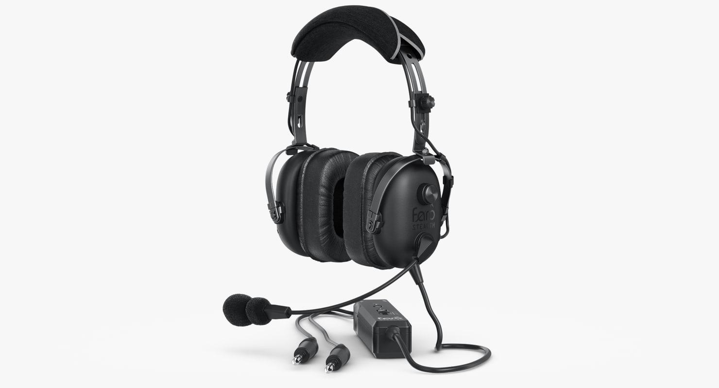 3d headphones faro stealth