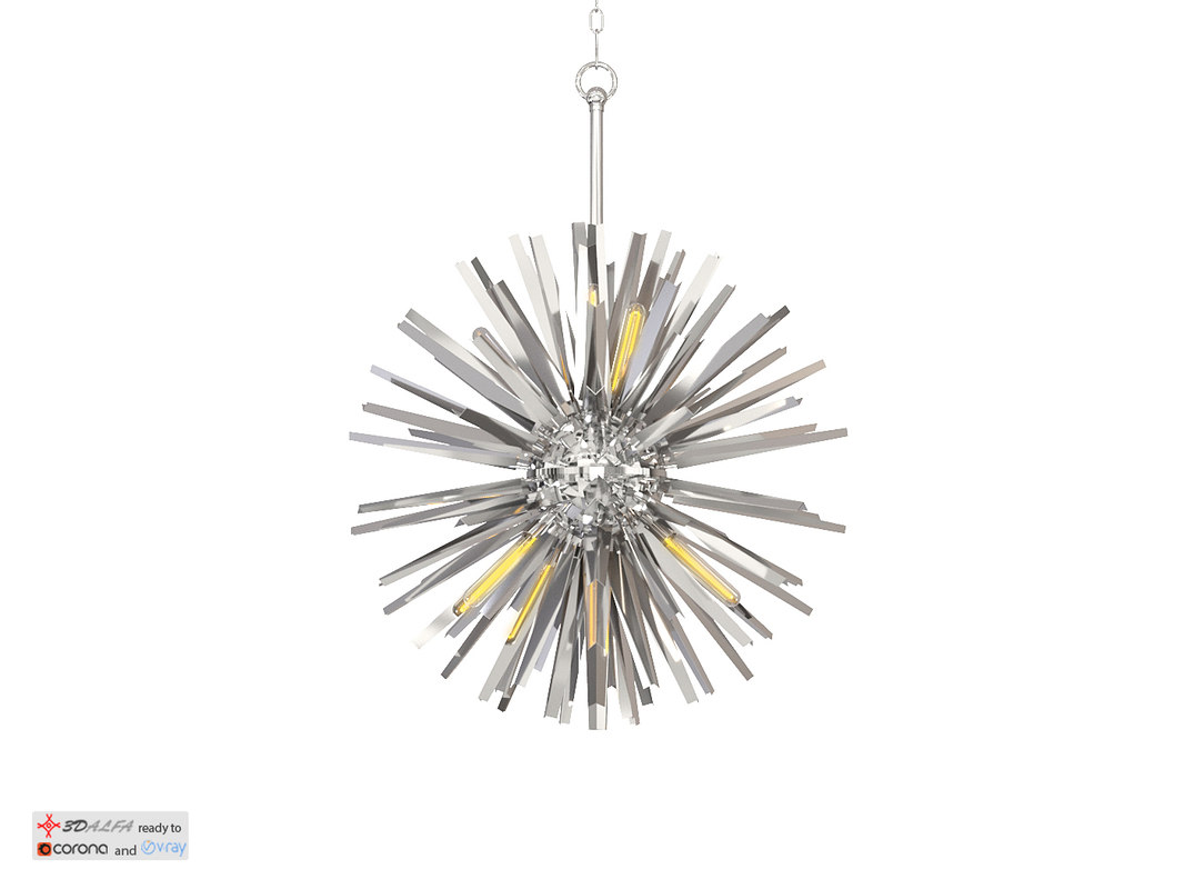 chandelier gregorian l eichholtz 3ds