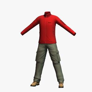 3d model mens clothing 5