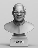 Narendra Modi 3d print