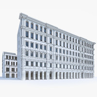 apartment house building 3d max