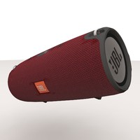 jbl xtreme red bluetooth 3d obj