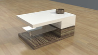 3d model bridgetown coffee table v2