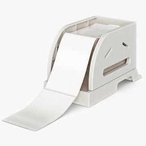 paper tray 3d model