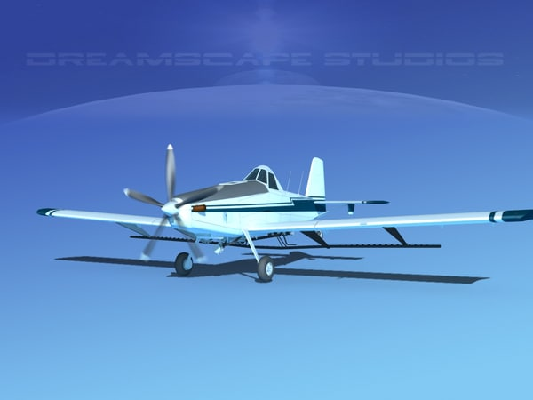 3d model of propellers air tractor at-802
