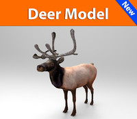 obj deer ready