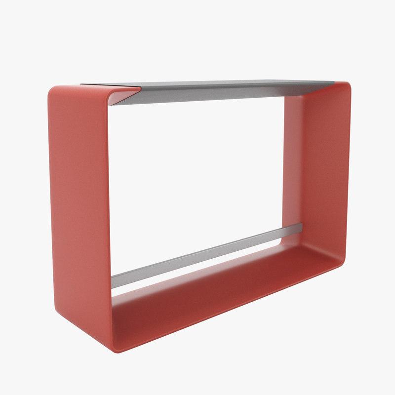 3d haworth hoop table model