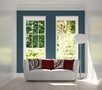 obj white sofa