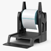 3d model roll holder