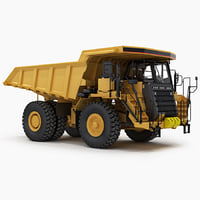 3d off-highway dump truck generic model