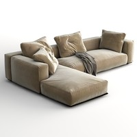 sofa grandemare 3d model