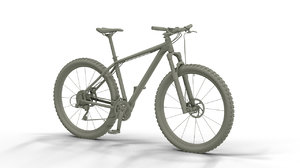 3d mountain bike model