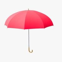 3d umbrella 01 model