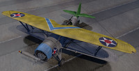 plane vought sbu-1 corsair 3d 3ds