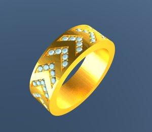 3d designer jewelry