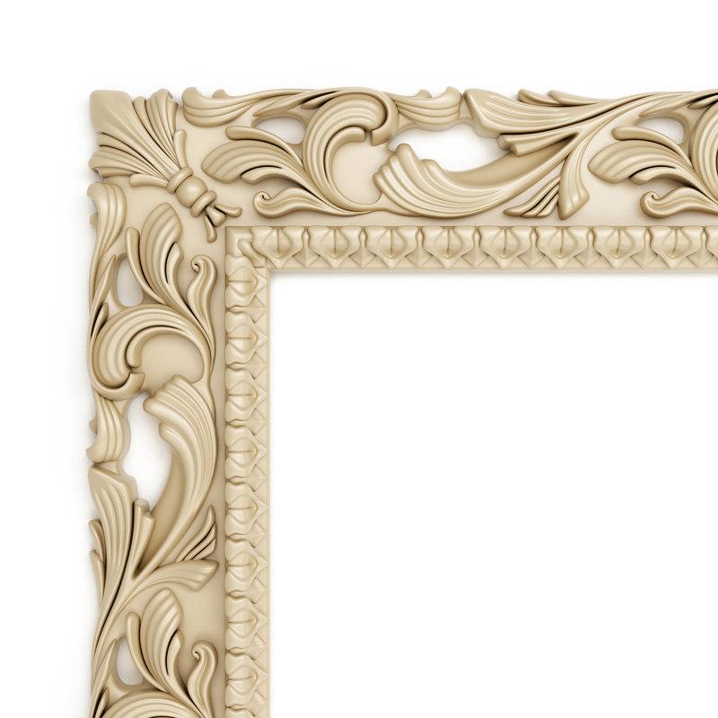 decorative frame 3d model
