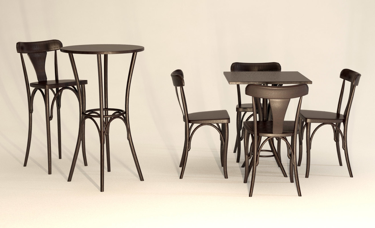 max table thonart chair