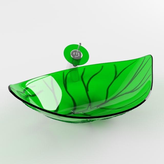3d sink leaf elite spring model