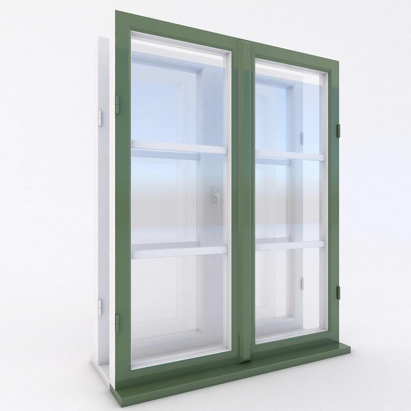 3d box type window