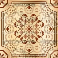 Wood mosaic seamless texture