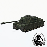 3d model tank tortoise a39