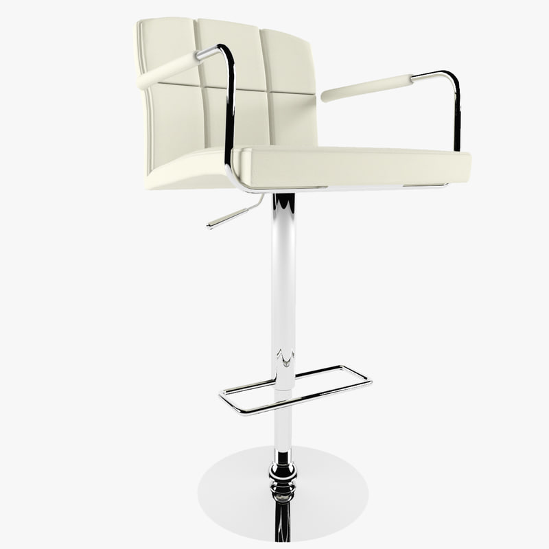 bar chair 3ds