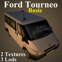 tourneo basic 3d max