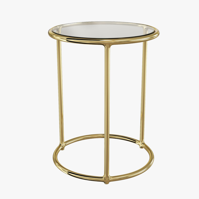 caprice table dwellstudio 3d model