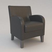 3d model cherche midi chair christian