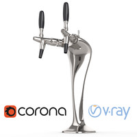max cobra-shaped beer tap corona