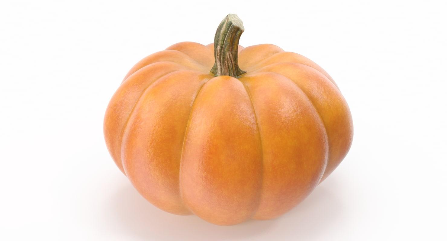 3ds pumpkin photorealistic
