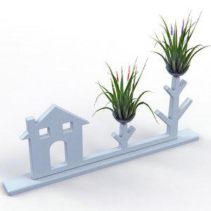 creative air plant decor max