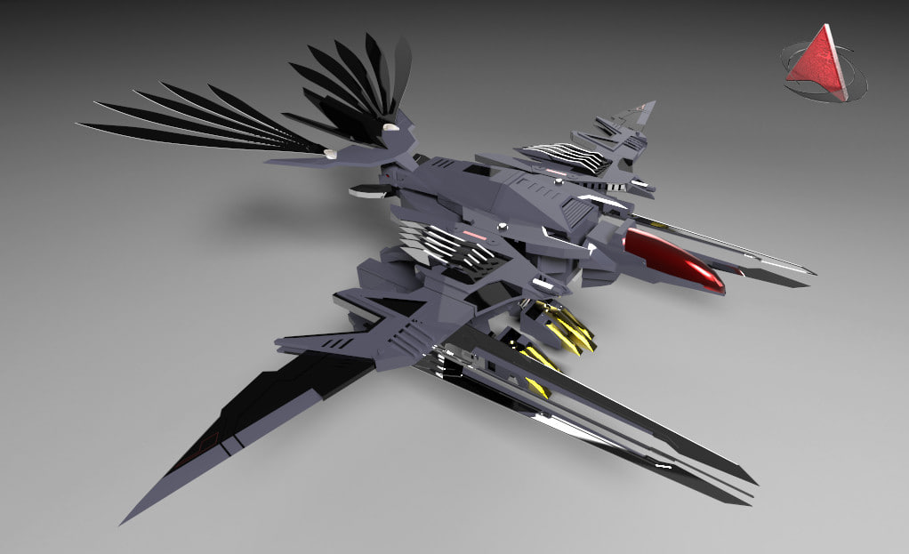 3ds zoid eagle